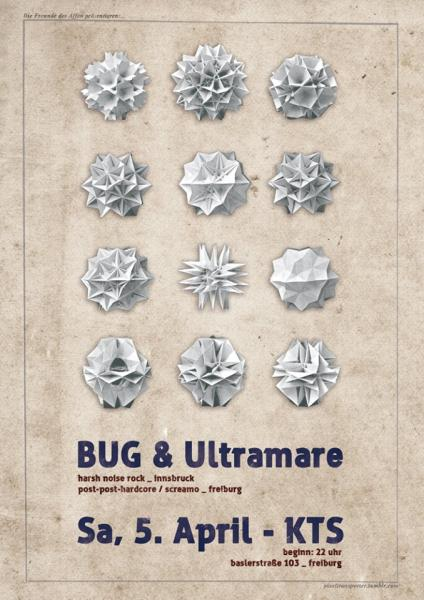 BUG & Ultramare Tourposter